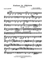 Italian in Algiers: 3rd B-flat Clarinet Sheet Music