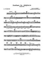 Italian in Algiers: 2nd Trombone Sheet Music