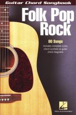 Hal Leonard Guitar Chord Songbook: Folk Sheet Music