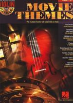 Hal Leonard Violin Play Along:movie Themes Sheet Music
