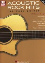 Hal Leonard Acoustic Rock Hits F. Easy Gui Sheet Music