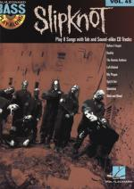 Hal Leonard Bass Play-along Slipknot Sheet Music