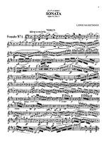 Beethoven: Violin Sonata, Op. 12 No. 1 Sheet Music