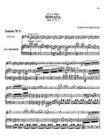 Beethoven: Violin Sonata, Op. 12 No. 2 Sheet Music