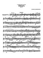 Beethoven: Violin Sonata, Op. 23 - Sonate No. 4 Sheet Music