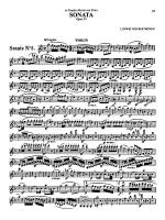 Beethoven: Violin Sonata, Op. 24 - Sonate No. 5 Sheet Music