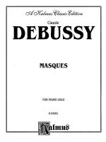 Debussy: Masques Sheet Music