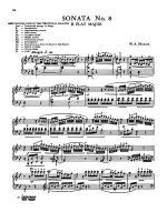 Mozart: Twenty Sonatas (Ed. Bela Bartok) Sheet Music