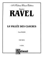 Ravel: La Vallee des Cloches Sheet Music