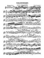 Strauss: Violin Concerto, Op. 8 Sheet Music
