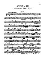 Corelli: Twelve Sonatas, Op. 5 (Volume II) Sheet Music