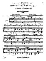 Guilmant: Morceau Symphonique, Op. 88 Sheet Music