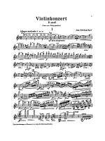 Sibelius: Concerto in D Minor, Op. 47 Sheet Music