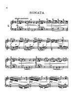 Bach: Six Sonatas Sheet Music