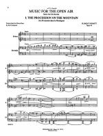 Schmitt: Music for the Open Air (Suite for Orchestra, Op. 44) Sheet Music