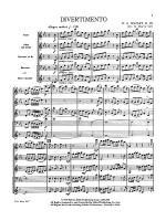 Divertimento: Score Sheet Music
