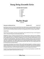 Big Ben Boogie: Score Sheet Music