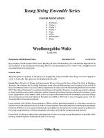 Woolloongabba Waltz: Score Sheet Music