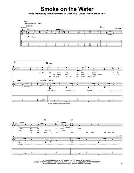 Guitar guitar tabs smoke on the water : Guitar : Guitar Tabs Smoke also Guitar Tabs Smoke On' Guitar Tabs ...