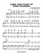 Come, Thou Fount Of Every Blessing Sheet Music