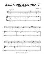 Desbaratando El Campamento (Pop Version) Sheet Music