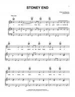 Stoney End Sheet Music