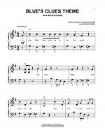 Blue's Clues Theme Sheet Music