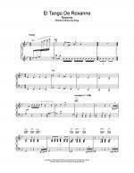 El Tango De Roxanne Sheet Music