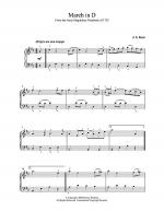 March in D Sheet Music