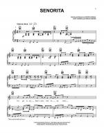 Senorita Sheet Music