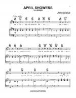 April Showers Sheet Music