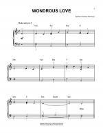 Wondrous Love Sheet Music