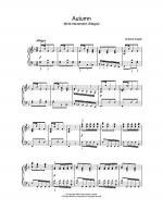 Autumn (third movement: Allegro) Sheet Music