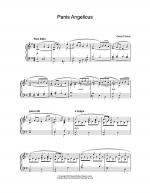 Panis Angelicus (O Lord Most Holy) Sheet Music