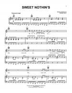 Sweet Nothin's Sheet Music