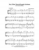 Any Other Name/Angela Undress (from American Beauty) Sheet Music