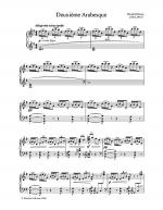 Deuxieme Arabesque Sheet Music