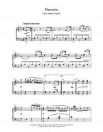 Menuett From Septet Op.20 Sheet Music