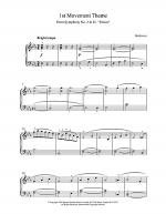 1st Movement Theme From Eroica Sheet Music