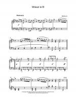 Minuet In D Sheet Music