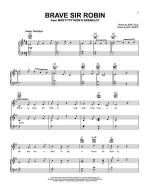 Brave Sir Robin Sheet Music