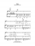 Kiss Sheet Music
