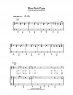 One-Trick Pony Sheet Music