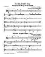 A Child This Day - Bb Trumpet 2 Sheet Music