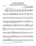 A Child This Day - Trombone Sheet Music