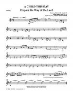 A Child This Day - Violin 2 Sheet Music