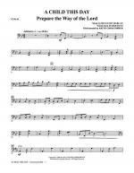 A Child This Day - Cello Sheet Music