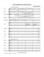 The Lord Bless You And Keep You - Full Score Sheet Music