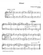 Minuet In G Major, K. 1 Sheet Music