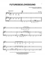 FutureSex/Lovesound Sheet Music